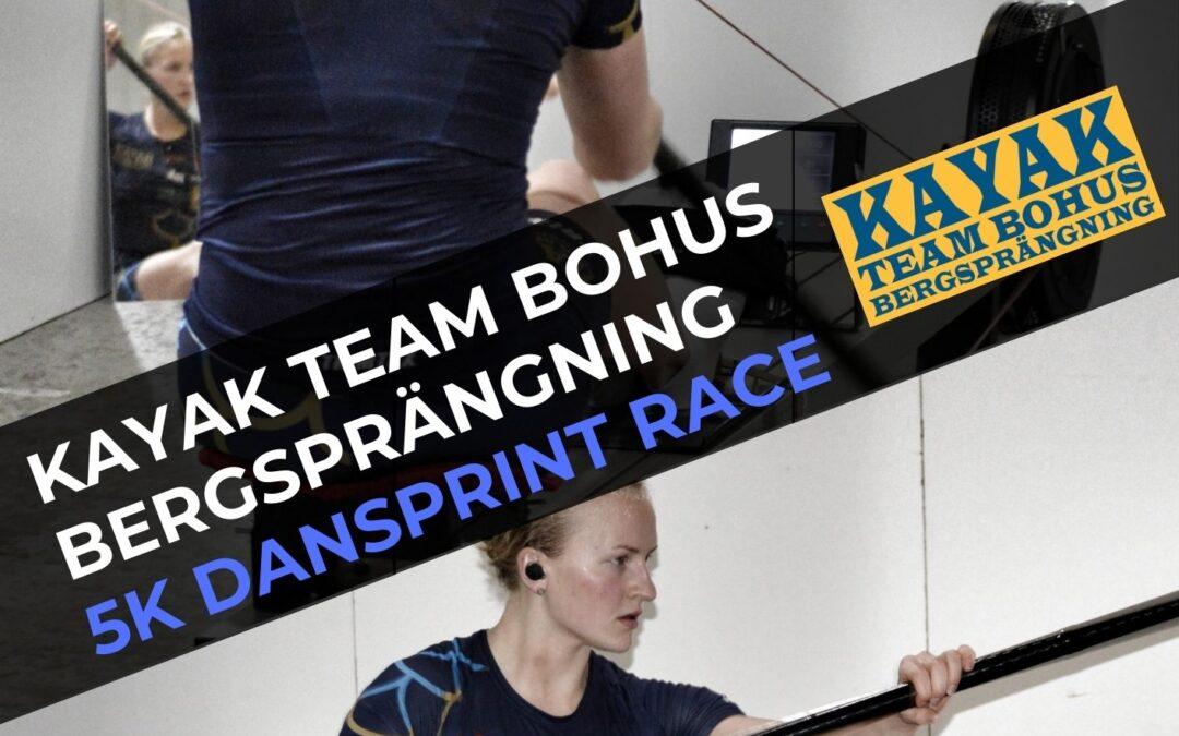 Kayak Team Bohus Bergsprängning 5k Dansprint Race